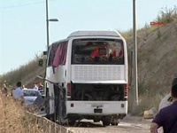 Bus Transporting Turkish Military Personnel and Their Families Runs over Roadside Bomb