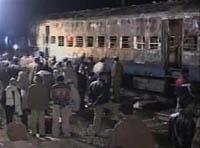 Indian train explosion kills 65