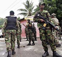East Timor soldiers fire killed 9 police