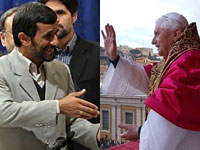 Iran may use Pope Benedict XVI to stave off potential US attack