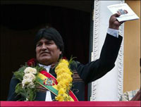 Unity of Bolivia at risk as powerful regions reject new Constitution