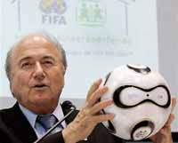 FIFA president wants tougher measures to fight fan violence