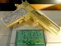 Luxury Mexican Trafficker Items Displayed in Museum