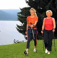 Elderly people have scientific reason to walk long distances