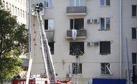 Gas explodes in Moscow apartment building, where US embassy officials live. 52816.jpeg