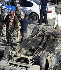 Car bomb kills at least eight in Baghdad