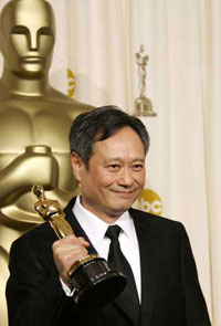 Brokeback Mountain film director Ang Lee overreacts during sex scenes of his new film