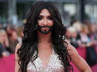 Transvestite singer may leave Russia without Eurovision Song Contest. 51824.png