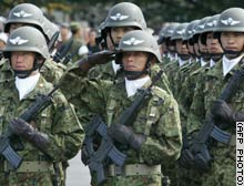 Japan doesn't dispatch troops to East Timor