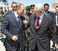 Putin to Abbas: you are the legitimate leader of all Palestinians