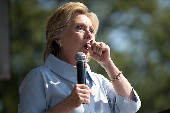 Clinton should reject further participation in election campaign. Hillary Clinton