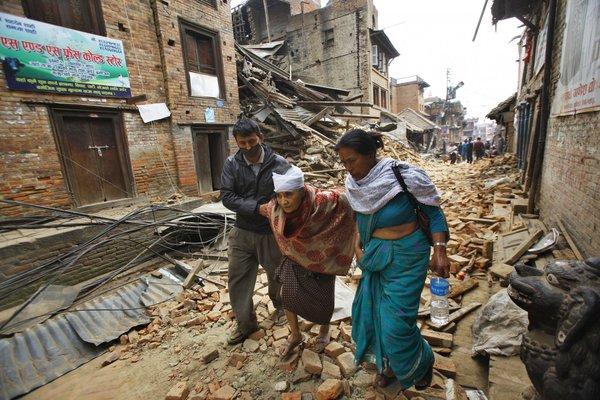 Nepal: One year on. 57828.jpeg