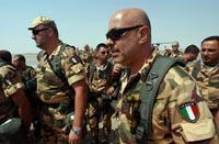 Prodi to intend withdrawing Italian troops from Iraq