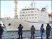 South, North Korean ships collide, 3 North Korean fishermen missing