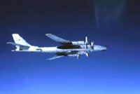 Russian bombers exercise over Arctic