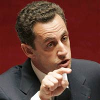 French President Sarkozy promotes Alzheimer's research