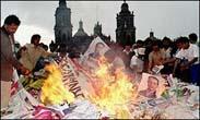 Mexico's political future remains uncertain after court declares Calderon next president