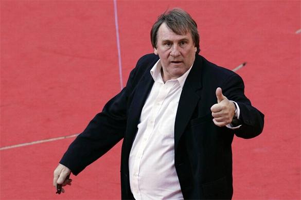 Gérard Depardieu is declared a Ukrainian national security threat. Depardieu
