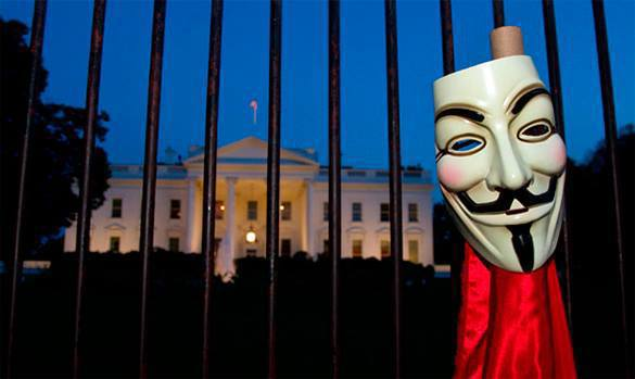 Anonymous sends video message to Barack Hussein Obama. Anonymous hackers warn Obama