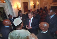 U.S. envoy in talks with central African officials