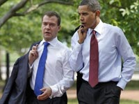 Medvedev and Obama: Reset and Tweet