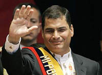 Ecuador's new president promises to renegotiate foreign debt