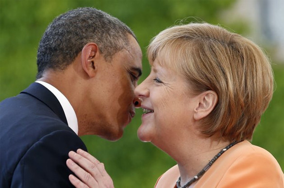 Sanctions not to be lifted from Russia, Germany fears USA. Obama and Merkel