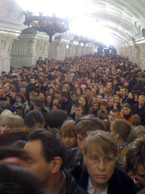 Moscow in Panic after Two Explosions in the Metro