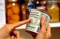 Reading food labels can make you healthier