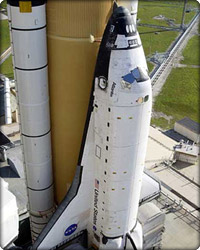 NASA delays the launch of shuttle Atlantis due to fuel cell malfunction