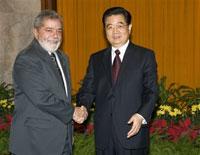 Brazil's Lula promotes Rio's 2016 Olympic bid in Beijing