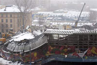 Moscow mayor rules out terrorism as possible cause of market roof collapse