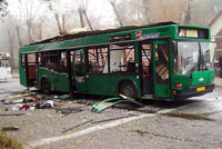 Eight bus passengers killed, over 50 injured in bomb explosion in Russia