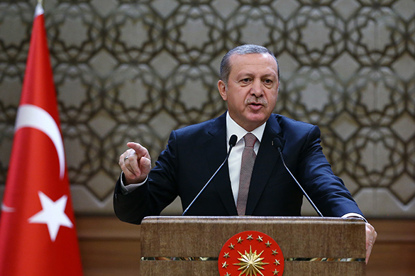 Turkey's Erdogan threatens Russia with war. Turkish President Erdogan