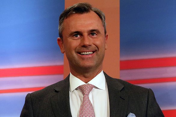 Austria may face pro-Russian president. Norbert Hofer