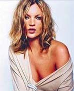 British model Kate Moss signs up for new Calvin Klein commercials