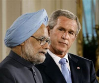 Prime minister of India raises doubts about India-US nuclear deal