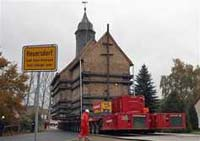 German 700-year church moves to new home
