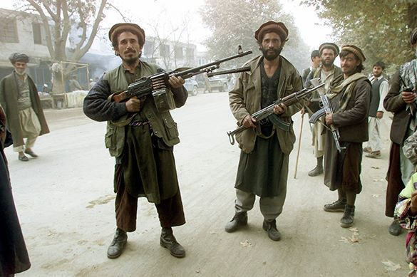 US is a source of instability in Afghanistan. Taliban