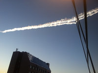 Chelyabinsk meteorite changes color and size. 51849.jpeg