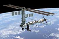 Russian cargo ship docks with international space station