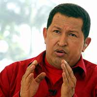 Venezuela's Chavez plans to bury old empire of USA