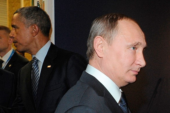 Obama and Putin meet behind closed doors in Paris, bury world in thought. Putin and Obama meet in Paris