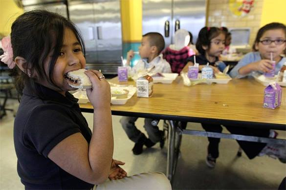 US schoolchildren to scan veins to lunch. US children