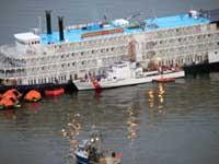 Cruise ship runs aground, takes on water off Alaska coast as passengers evacuate