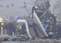 Remote-controlled bomb explodes in trolleybus in Volgograd, at least 15 killed. 51860.png