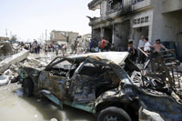 Suicide car bomber kills six in Iraq