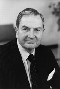 David Rockefeller makes largest donation to Harvard University