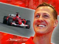Schumacher Is Moderate in His Wishes