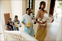 Lebanese family enslaves Sri Lankan maid
